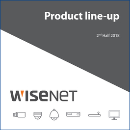 Wisenet Product LineUp